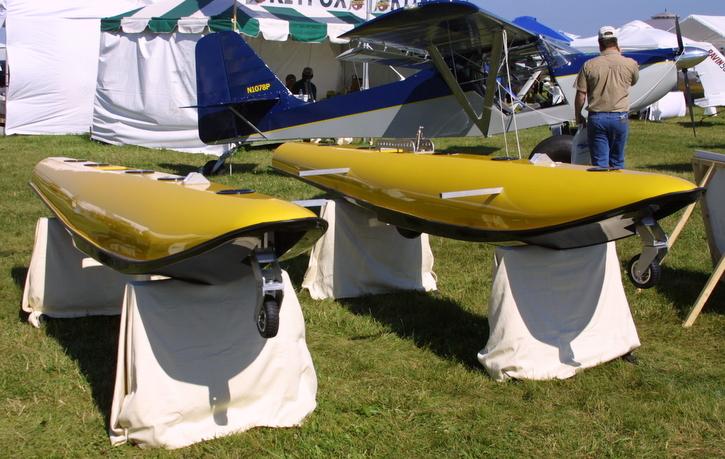 Downwind Technology, Shark Series II floats by Downwind
