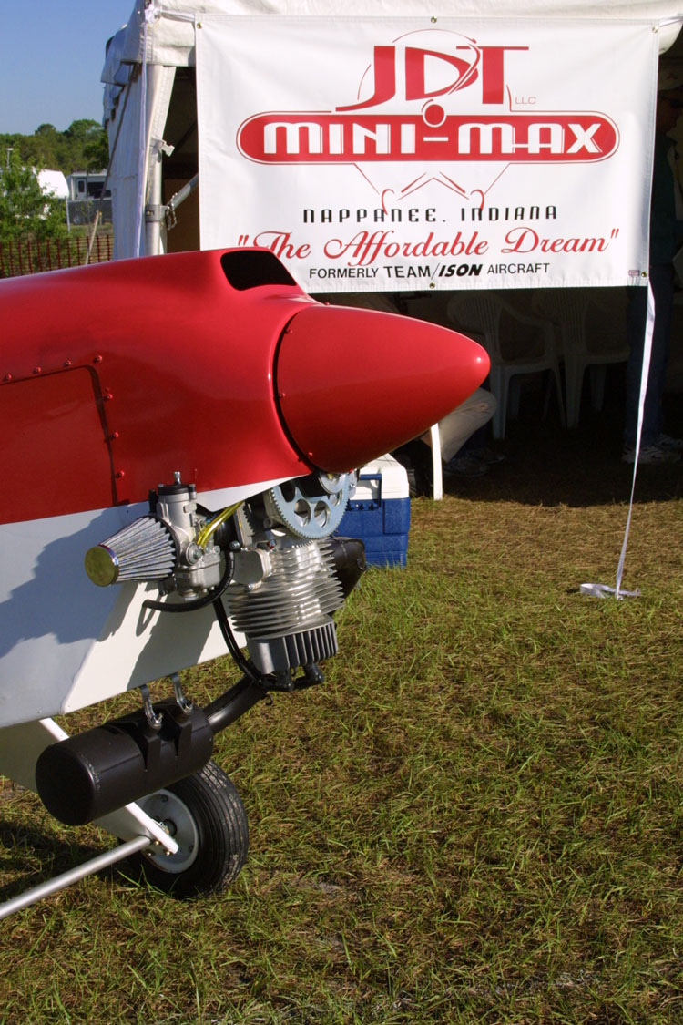 JDT Mini-Max, JDT Mini-Max ultralight aircraft kit manufacturer