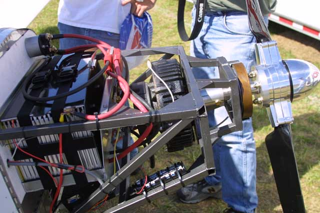 Electric powered aircraft electra flyer introduces for Electric motor for aircraft
