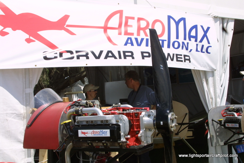 AeroMax Corvair engine for experimental aircraft, AeroMax