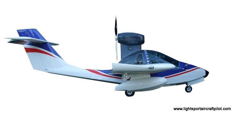 Mermaid M6 amphibious light sport aircraft, Mermaid M6 amphibious