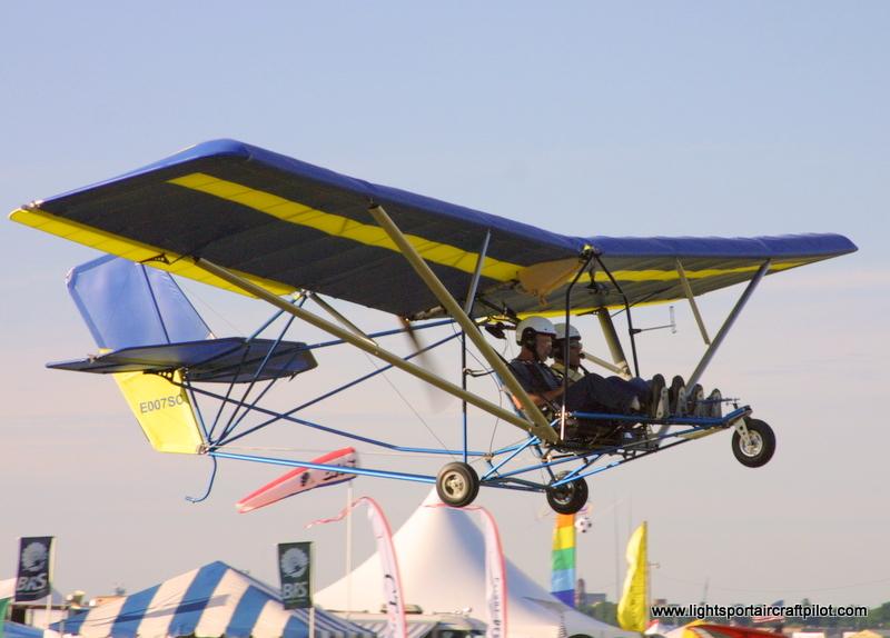 Quicksilver Sport 2S experimental aircraft, Quicksilver