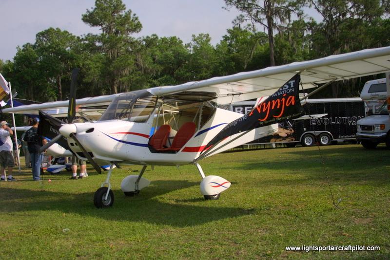 Best Off Aircraft NYNJA  experimental lightsport aircraft, Light