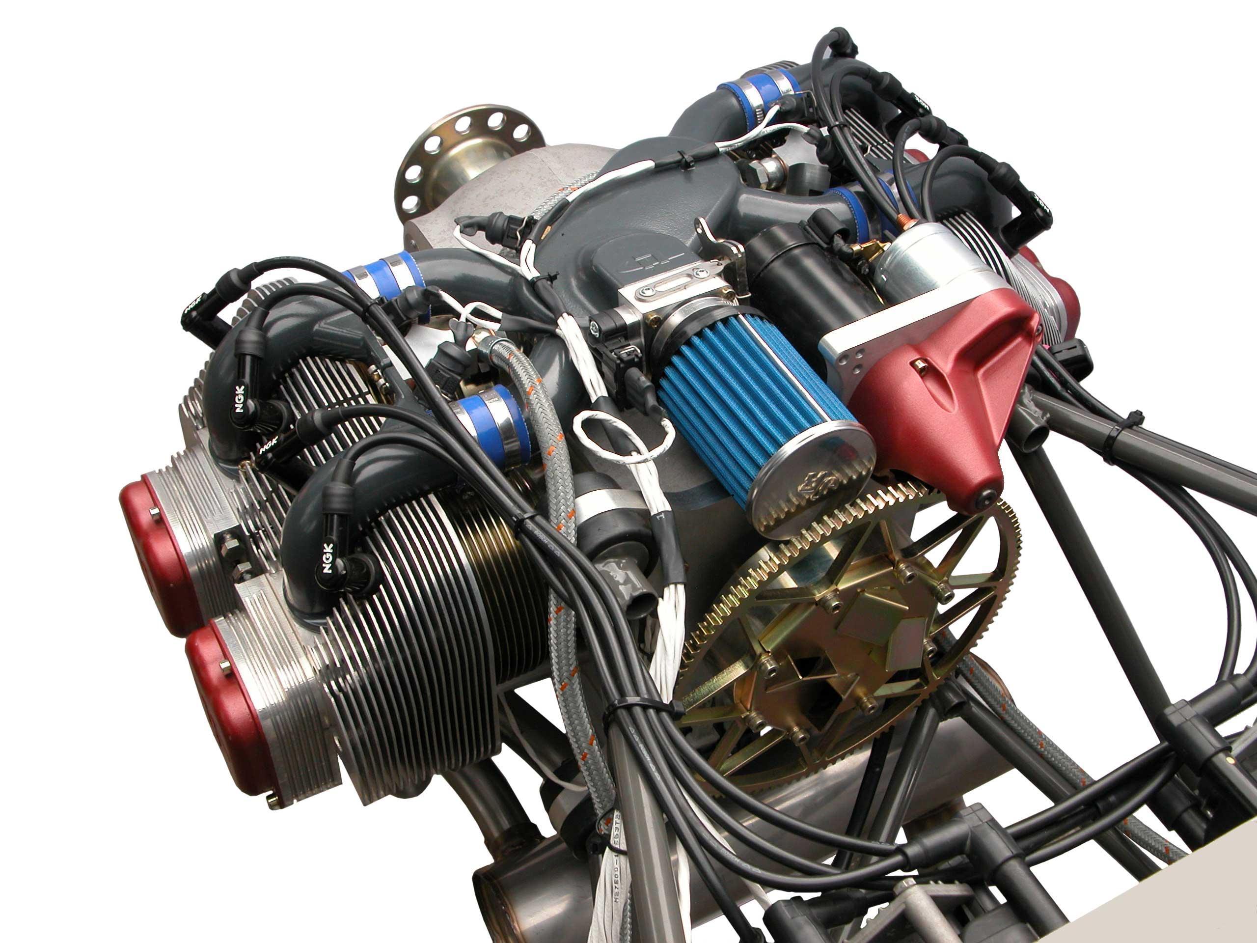 UL260i, UL Power's UL260i 4 cylinder, 4 stroke, electronic ...